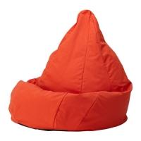 ОЛМЕ Пуфик-мешок - Висле красно-оранжевый  - IKEA
