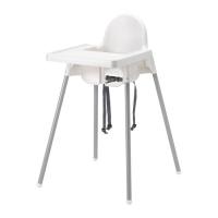 АНТИЛОП Высокий стульчик со столешн   - IKEA
