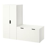 СТУВА Комбинация д/хранен со скамьей - IKEA