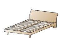 Кровать Лером КР-112