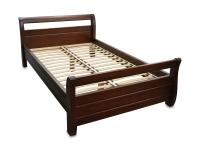 Односпальная деревянная кровать МВС Лагуна 120х200 см (цвет 2)
