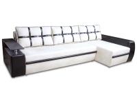Розкладний кутовий диван Мустанг Лонг єврокнижка з подушками від Гуллівера МВС