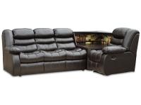 Розкладний кутовий диван Черокі 3х1 з баром седафлекс