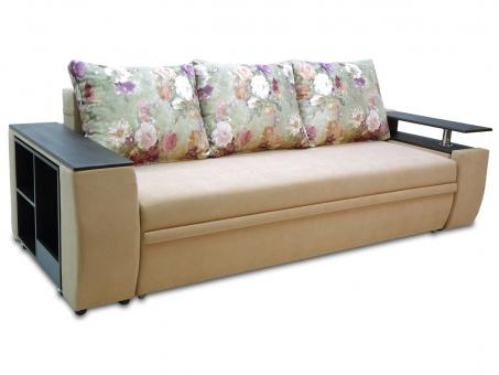 Розкладний диван Мустанг єврокнижка з виїзною полицею МВС