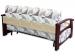 Раскладной диван МВС Сен-Тропе М 160х200 аккордеон (Budapest Beige)