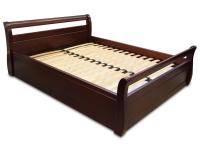 Двуспальная деревянная кровать МВС Лагуна 160х200 см с подъёмным механизмом (цвет 2)
