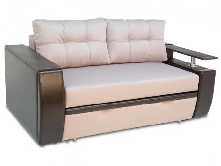 Розкладний диван Мустанг Міні двомісний єврокнижка і дельфін з подушками від Тет-а-Тет 2 шт МВС