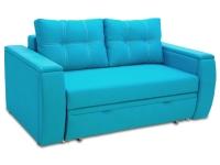 Раскладной диван МВС Мустанг Мини двухместный еврокнижка и дельфин с подушками от Тет-а-Тет 2 шт и мягкими накладками