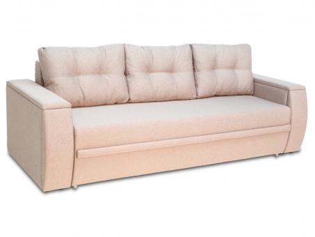 Розкладний диван МВС Мустанг Міні єврокнижка з подушками від Тет-а-Тет 3 шт і м'якими накладками
