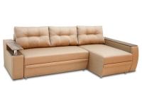 Раскладной угловой диван МВС Мустанг Мини еврокнижка с подушками от Тет-а-Тет 3 шт