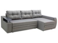 Розкладний кутовий диван Мустанг Міні єврокнижка з подушками від Тет-а-Тет 3 шт МВС