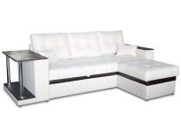 Раскладной угловой диван МВС Барселона дельфин (Снейк 2223/Gerra Dark Brown)