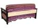 Раскладной диван МВС Сан-Ремо 160х200 аккордеон (Coffee Berry)