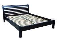 Двуспальная деревянная кровать МВС Фиеста 160х200 см (цвет 5)