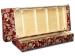 Раскладной диван МВС Клеопатра Тройка еврокнижка (Диамонд D150 221/Диамонд D152 221)