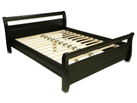 Двуспальная деревянная кровать МВС Лагуна 160х200 см (цвет 3)