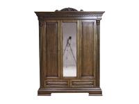 Шкаф для одежды Мебус 3Д/2Ш Каролина
