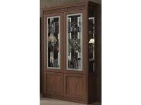 Витрина 2-дверная Мебус Марсель (стекло)