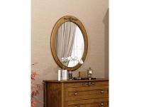 Зеркало овальное вертикальное Мебус Палермо
