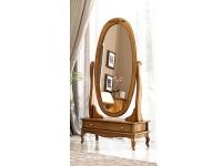 Зеркало овальное Мебус Палермо