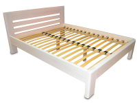 Double wooden bed Modern 160x200 cm (color 11) MVS