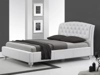 Двуспальная кровать с мягким изголовьем Halmar Sofia 160х200 см