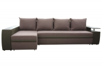 Розкладний кутовий диван Мустанг Лонг єврокнижка МВС