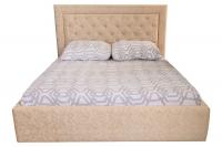 Двоспальне ліжко з м'яким узголів'ям МВС Венера Прима 160х200 см