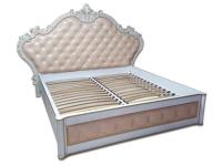 Двуспальная деревянная кровать МВС Империя 180х200 см