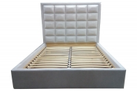 Bed with soft headboard Itaka New MVS (Price from)