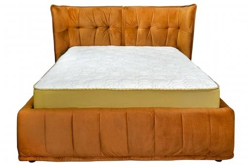 Двоспальне ліжко з м'яким узголів'ям Моніка LA FAMILIA