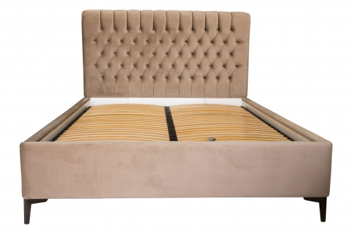 Двоспальне ліжко з м'яким узголів'ям Скарлетт LA FAMILIA