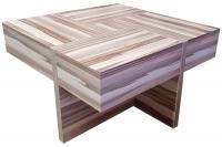 Coffee table MVS Quatro without veneer