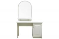 Туалетний столик МВС Лаура в білому кольорі