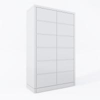 Двухдверный деревянный шкаф для одежды МВС Модерн (цвет 11)