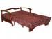 Раскладной диван МВС Санта-Круз 120х200 аккордеон (Dali 28)