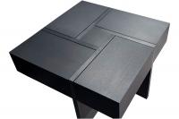 Coffee table MVS Quatro with veneer