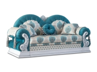 Раскладной диван Мебус Султан двухместный дельфин