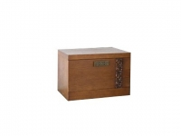 Bedside table Mebus 1SH Orchid