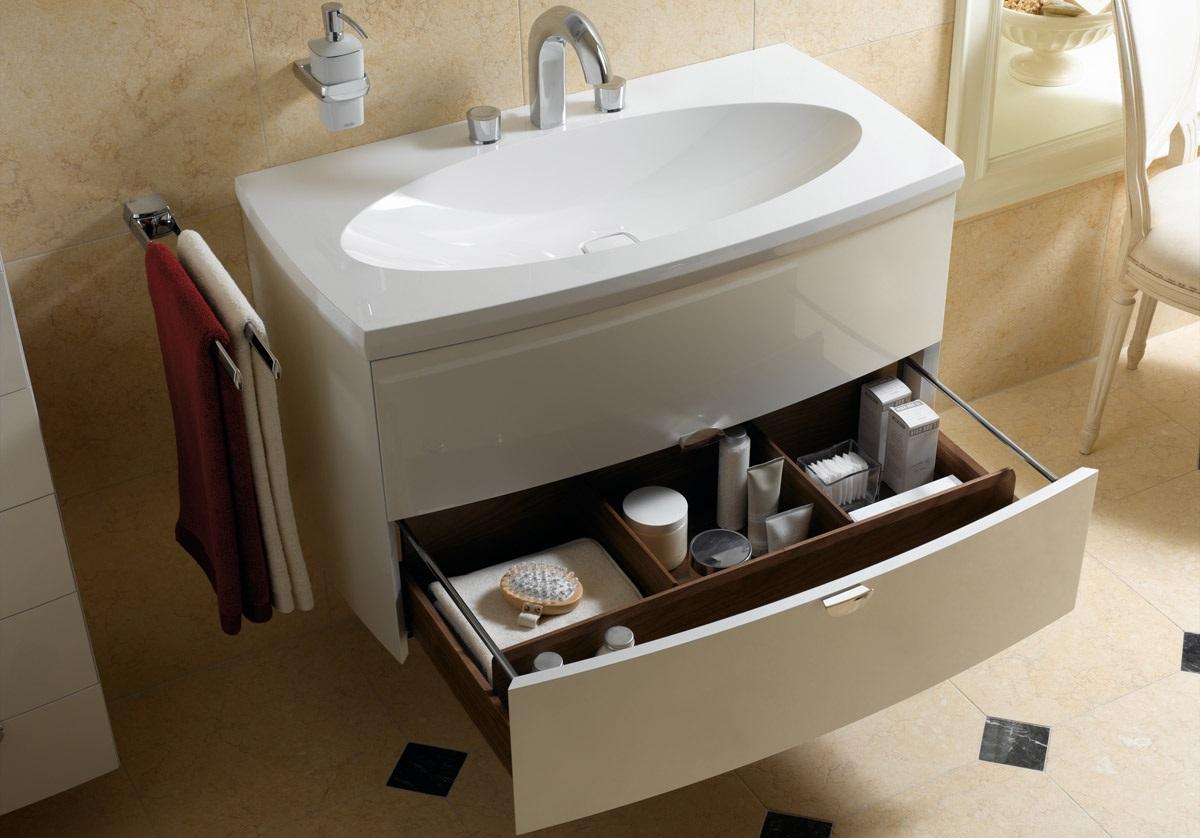 купить тумбу с раковиной в ванну